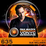 Paul van Dyk's VONYC Sessions 635 - Chillout Special with Sue McLaren Guestmix