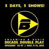 SWARMING B RADIO 2015:  Episode 95 (Decade Double Play / The 1980's)