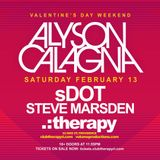 Live @ .:therapy RI- Valentine's Day 2016