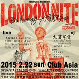 Live at Club asia LONDON NITE 35th Anniversary