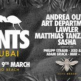 Sasha - Live At ANTS, Soho Beach Club (Dubai) - 09-03-2018