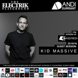 Electrik Playground 22/10/16 inc Kid Massive Guest Session