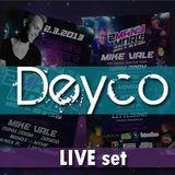 Deyco LIVE @ 2ManyMore, Festivalna dvorana Maribor 02 03 2013
