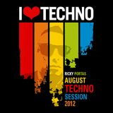 Ricky Portas - August 2012 Techno Session