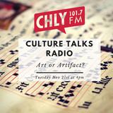 Culture Talks: Art or Artifact?
