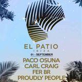 Paco Osuna - Live @ Music On Day Show, El Patio Playa D En Bossa (Ibiza, ES) - 01.09.2018
