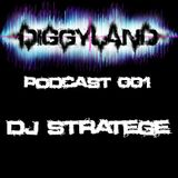 Diggyland PODCAST 001 - Dj Stratège