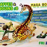 DJ set & live percussion / Giraffes & Penguins 8 / L'uZinne Brussels 27/07/2018