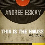 This Is The House / April 2013 Promo Mix / Mixed by Andree Eskay