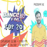 DanceFM Top 25 august - 1 septembrie 2018