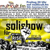 multicult.fm ALANDALA Solishow für Refugee Strike Berlin (feat. Wardita)