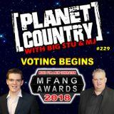 #229 - MFANG Awards voting begins