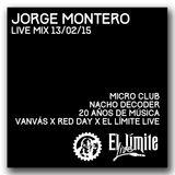 SweatCast #40 - Jorge Montero - Live Mix @ Nacho Decoder 20 Años x Van Vás