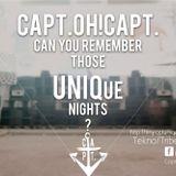 Tekno Mix | CaptOHCapt can you remember those unique nights?