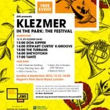 Klezmer in the Park 2015