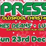 JAMES DEANS & LUCKY LUCIANO (ELECTROSEXUAL BOYS) COMPRESSION PROMO NOVEMBER 2012
