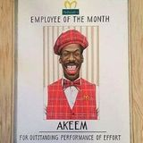 EMPLOY YEE OF THE MONTH