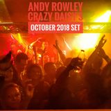 Andy Rowley Crazy Daisys October 2018 set