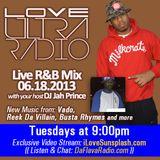 Love Ultra Radio with Jah Prince B 06 18 2013