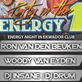 DJ DRUM & WOODY VAN EYDEN EKWADOR MANIECZKI ENERGY 1 09.11.2013