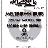 Meltdown Dubs Set by GON - La Selva Radio Show from Melting Pot Records store