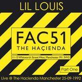 Lil Louis @ Haçienda, Manchester, UK - 25 SEPT 1992