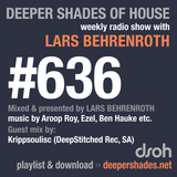 Deeper Shades Of House #636 w/ exclusive guest mix by KRIPPSOULISC