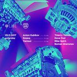 Roman Sheronov - Live @ Highway Showcase, Live8club, Moscow 26.11.17