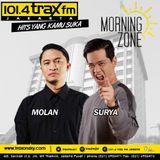 Surya Molan MorningZone TraxFMJKT 25 Oktober 2016