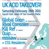 Kill Ref @ UK Acid Takeover - Liquid Club Malta 19-02-2011