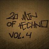 20 minute mix of Techno vol.4