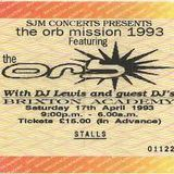 The Orb - The Orb Live Cassette