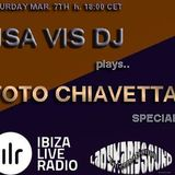 Toto Chiavetta special, mixed by ISA VIS DJ on Ibiza Live Radio, saturday march 7th 2015