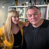 Kate Hutchinson with Stewart Lee // 24-11-17