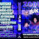ZODIAC UK 44 UV PARTY 15.3.13 MARK E.G MC RIBBZ & SPACE