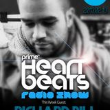 Richard Bill live @ Heartbeats radio show on prime.fm