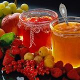 Jam mit Marmelade