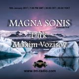Maxim Vozisov - Guest Mix - MAGNA SONIS 014 (18th January 2017) on TM-Radio