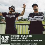 Alpha Beat #23 w/ Virus Syndacate - 01.04.2016
