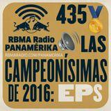 RBMA Radio Panamérika 435 - Las Campeonísimas de 2016: EPs