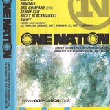 Nicky Blackmarket with MC GQ, Foxy & Fatman D at One Nation 28th July 2000