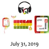 """Reggae Transfusion"" on KGNU Community Radio [07-31-2019]"