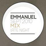 Emmanuel  September 2010 Mix
