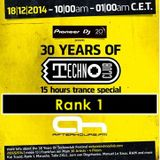 18.12.2014 - 30 Years of Technoclub Special on Afterhours FM - Rank 1 (21:00 - 22:00 CET)