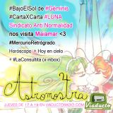 #AstroMostra S02E07 #Geminis con Maiamar y @12SAN #CartaXCarta #LaLuna + #LaConsultita + Horóscpo