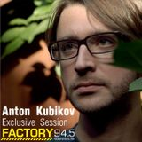 Anton Kubikov - Winter spining around mix for Factory FM
