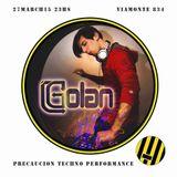 DJ Golan @ Precaución TECHNO! (27-03-2015)