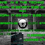 DJ Arvie In 2 The Techno Zone Episode 12-03 and 17-03-2017