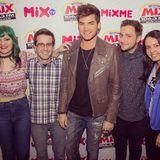 2015-09-15 Adam Lambert interview w/ Mix Tudo, Rádio Mix FM - São Paulo, Brazil