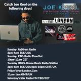 VYBELONDON 9-21-18  Friday Night Vibes w/Master Mixologist Joe Kool